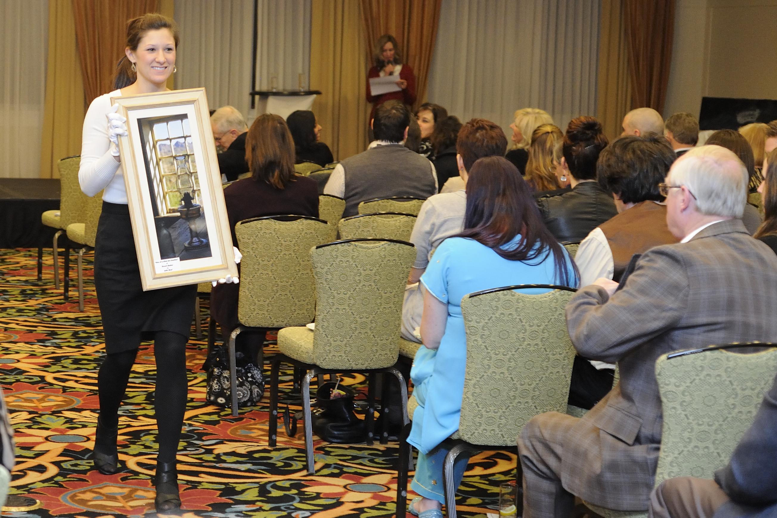Live Art Auction Showing